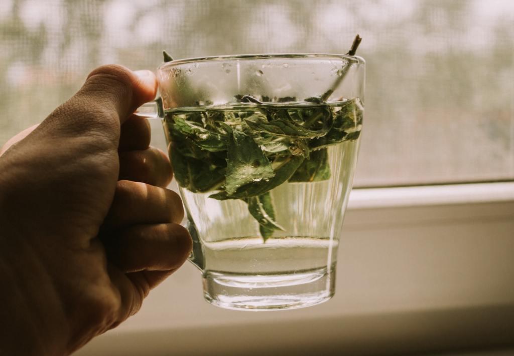 tés para desinflamar el vientre