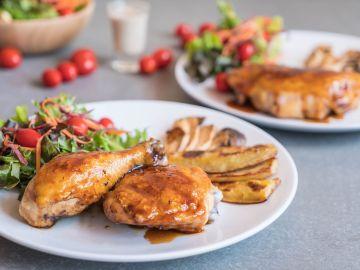 Las proteínas deberán combinarse con vegetales crudos. / Foto: Freepik