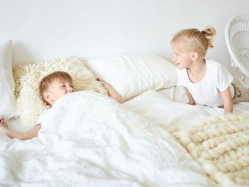 La cantidad de horas del sueño dependerá de la edad del niño. / Foto: Freepik.
