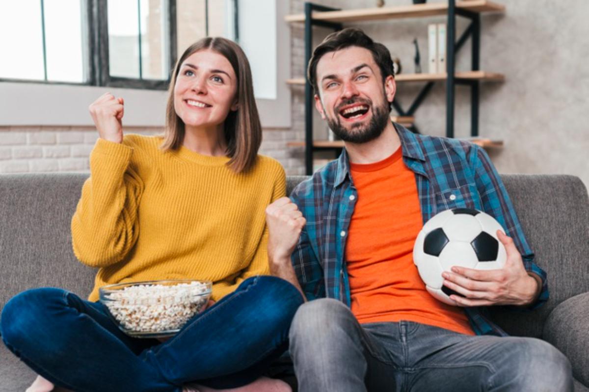pareja fútbol