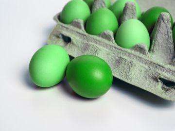 huevos verdes