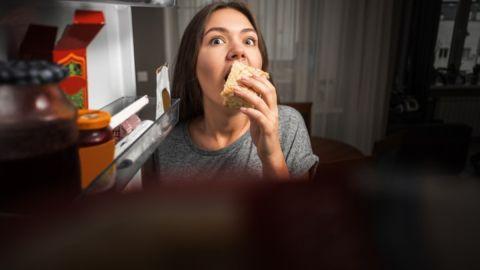 atracones de comida