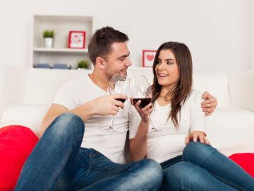 truco de la media copa de vino