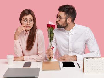 relación de pareja en el trabajo