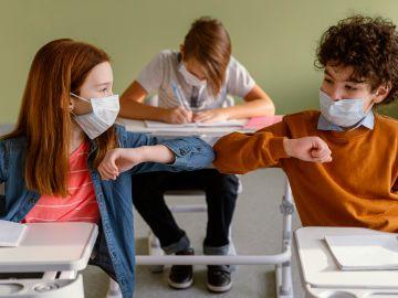 patógenos peligrosos en mascarillas