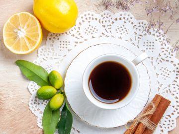 café con limón para bajar de peso