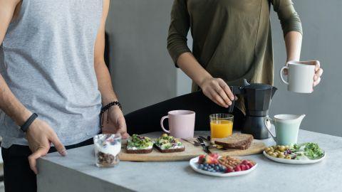 bebidas, desayuno,bajar de peso